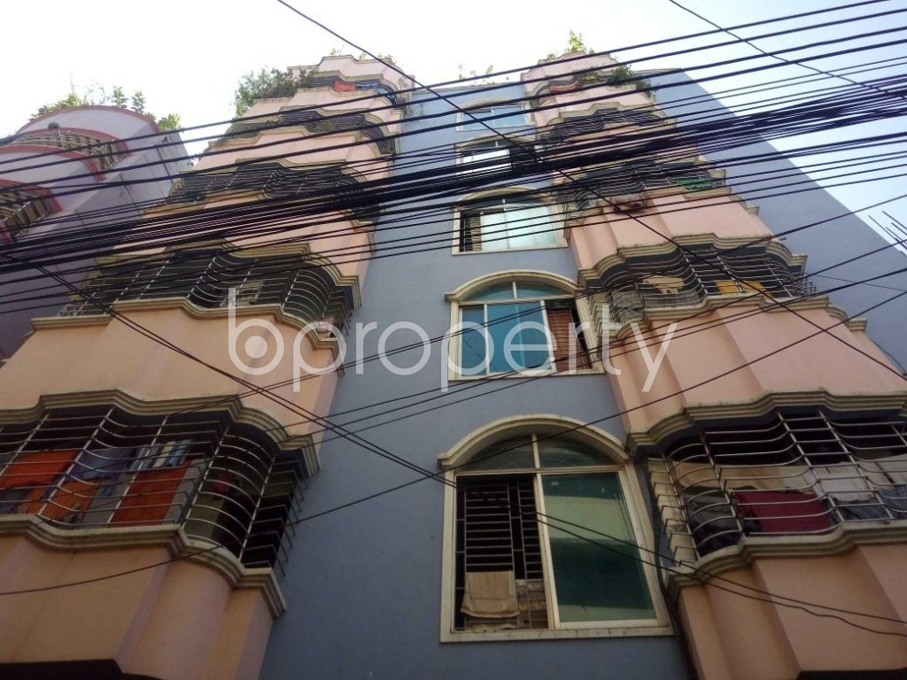 Front view - 2 Bed Apartment to Rent in Bakalia, Chattogram - 1930490
