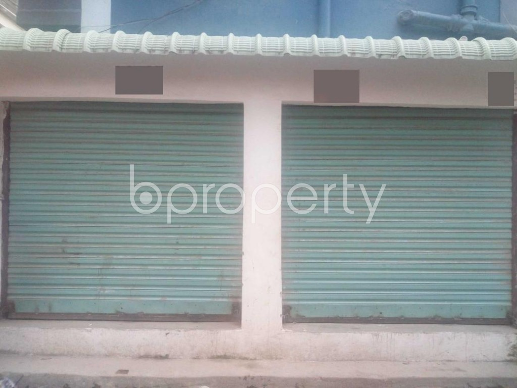 Front view - Shop to Rent in Banasree, Dhaka - 1930493