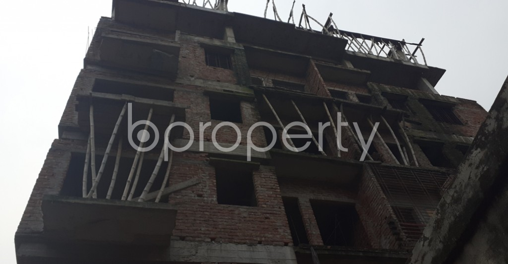 Front view - 3 Bed Apartment for Sale in Malibagh, Dhaka - 1930511