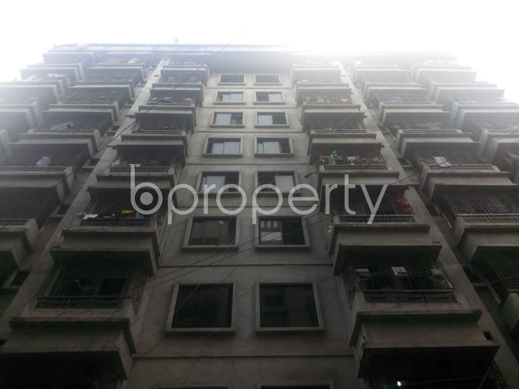 Front view - 3 Bed Apartment to Rent in Banasree, Dhaka - 1930518