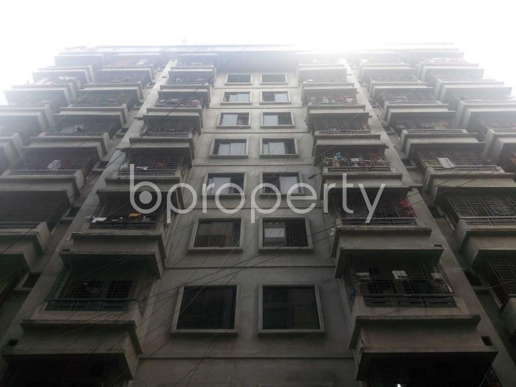 Front view - 3 Bed Apartment to Rent in Banasree, Dhaka - 1930519