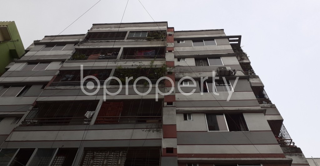 Front view - 3 Bed Apartment for Sale in Mirpur, Dhaka - 1930622