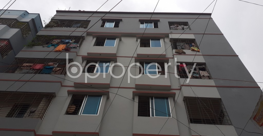 Front view - 3 Bed Apartment for Sale in Mirpur, Dhaka - 1930741