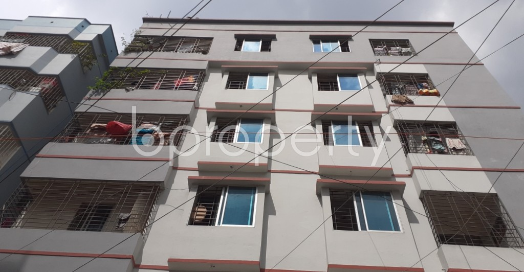 Front view - 3 Bed Apartment for Sale in Mirpur, Dhaka - 1930750