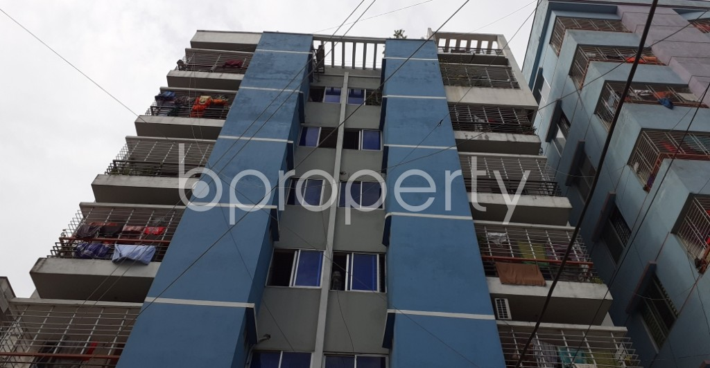Front view - 3 Bed Apartment for Sale in Mirpur, Dhaka - 1930810