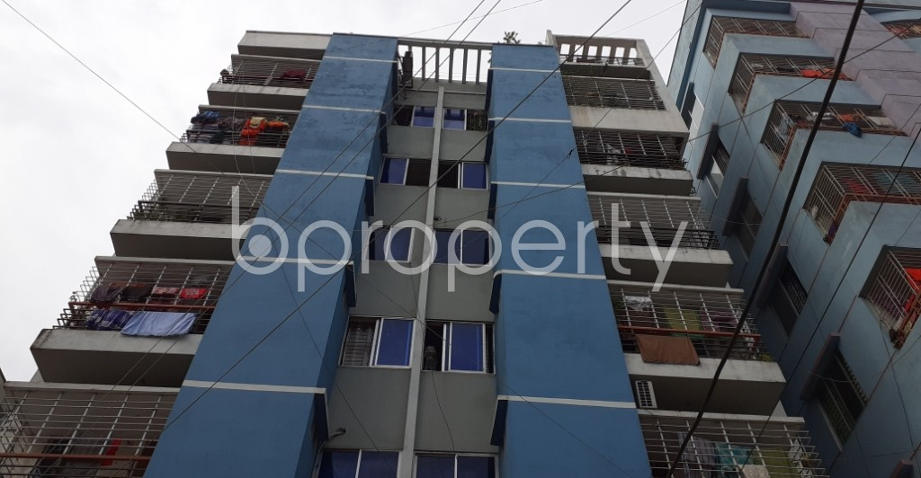 Front view - 3 Bed Apartment for Sale in Mirpur, Dhaka - 1930811