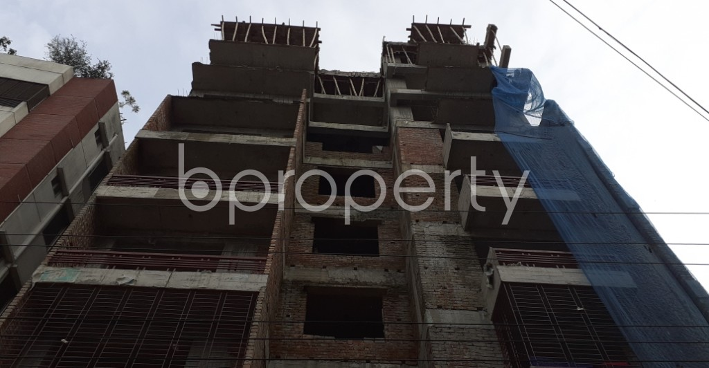 Front view - 3 Bed Apartment for Sale in Mirpur, Dhaka - 1930872