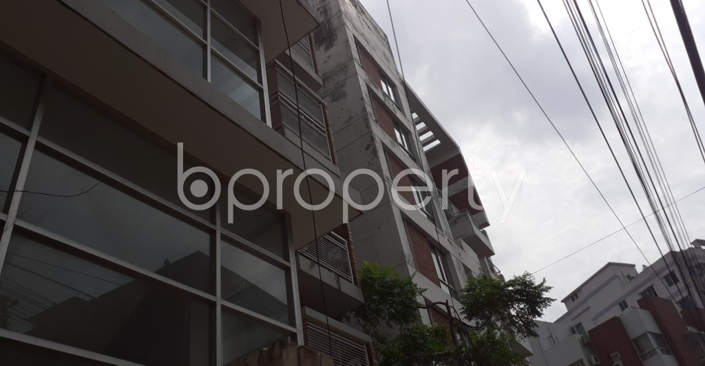 Outside view - Office to Rent in Lalmatia, Dhaka - 1930874