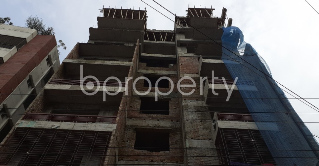 Front view - 3 Bed Apartment for Sale in Mirpur, Dhaka - 1930882