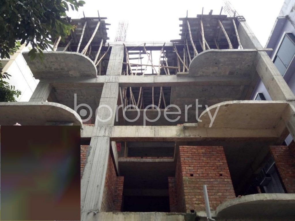 Front view - 3 Bed Apartment for Sale in Uttara, Dhaka - 1931032