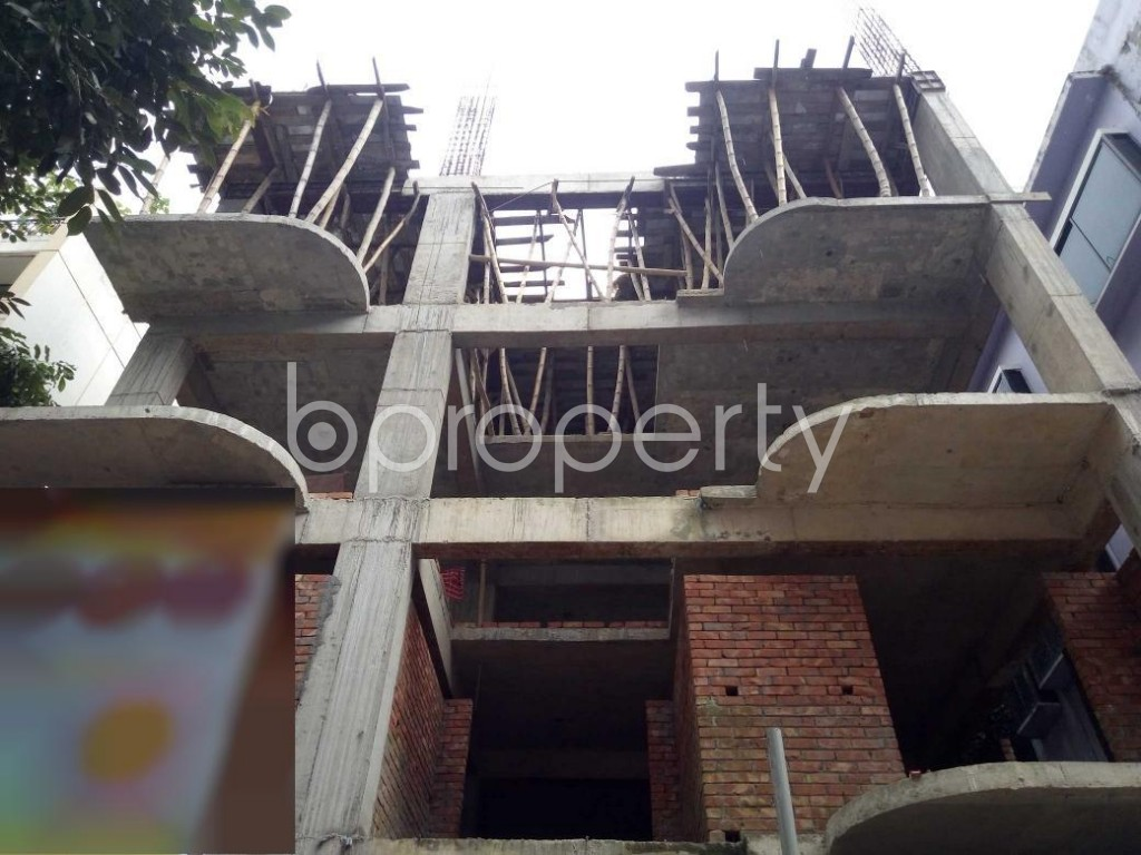 Front view - 3 Bed Apartment for Sale in Uttara, Dhaka - 1931042