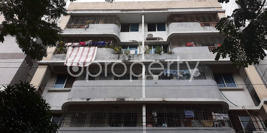 Front view - 3 Bed Apartment for Sale in Bashundhara R-A, Dhaka - 1931050