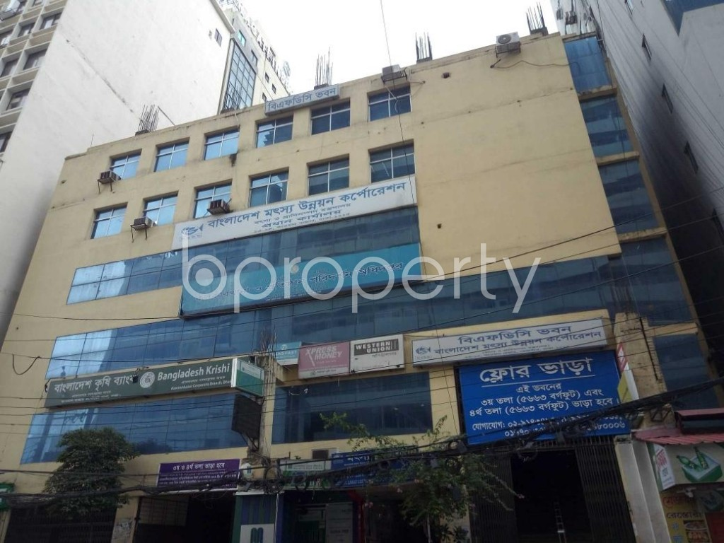 Front view - Office to Rent in Tejgaon, Dhaka - 1931084