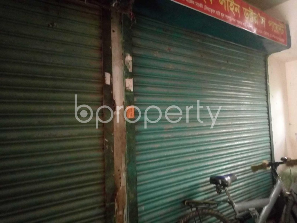 Front view - Shop to Rent in Nadda, Dhaka - 1931112