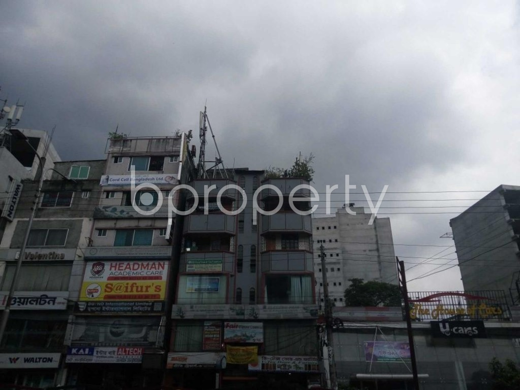 Front view - Office to Rent in Kuril , Dhaka - 1931115
