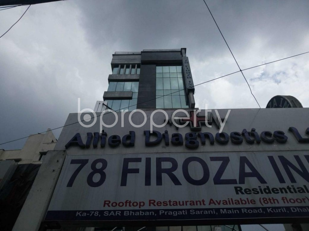 Front view - Office to Rent in Joar Sahara, Dhaka - 1931117