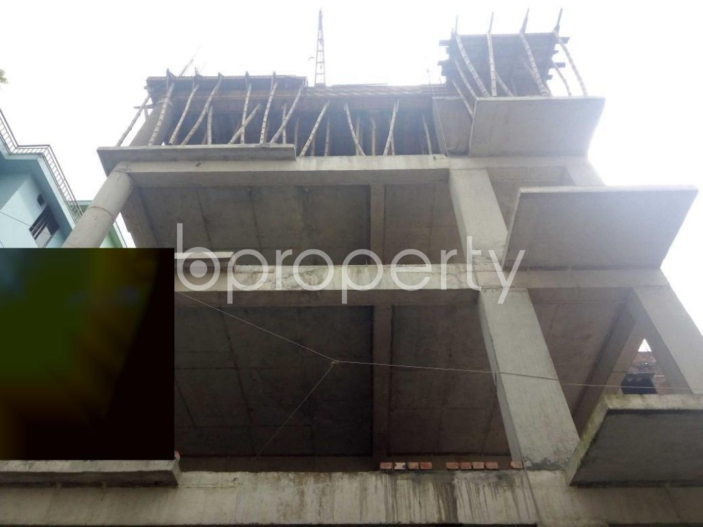 Front view - 3 Bed Apartment for Sale in Uttara, Dhaka - 1931122