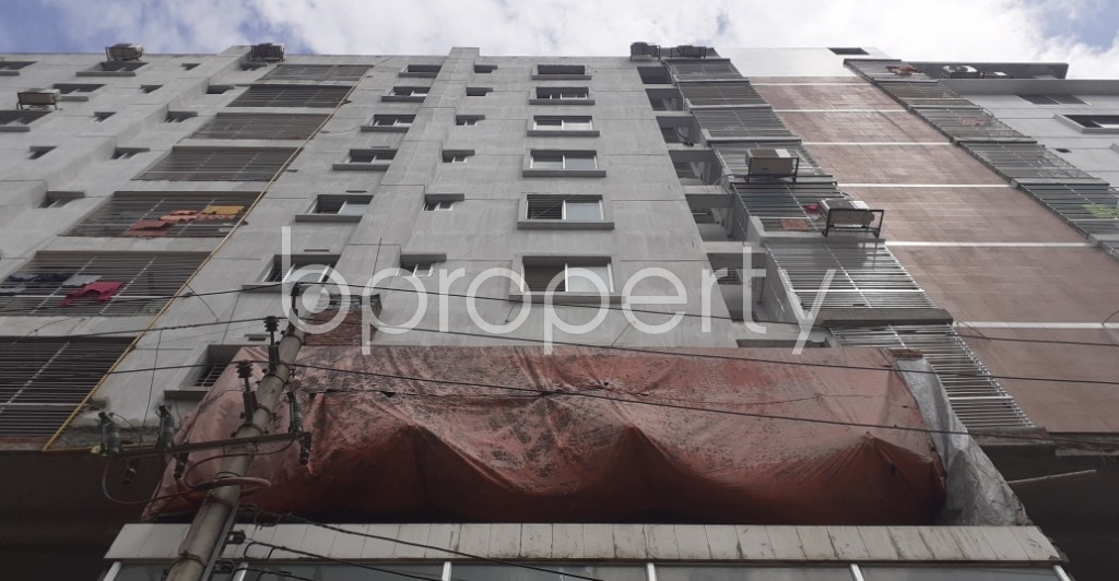 Front view - Office to Rent in Banasree, Dhaka - 1931167