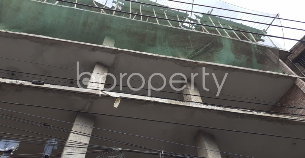 Outside view - Floor for Sale in Jatra Bari, Dhaka - 1931252