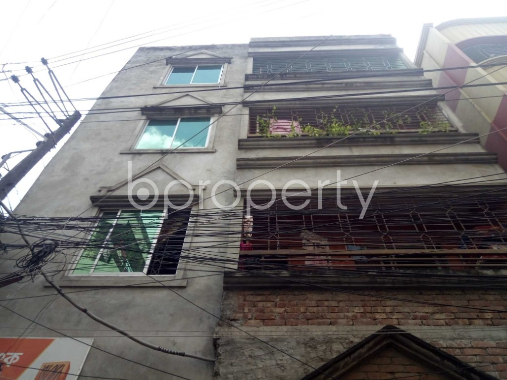 Outside view - 2 Bed Apartment to Rent in Maghbazar, Dhaka - 1931347