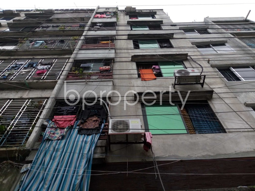 Front view - 2 Bed Apartment to Rent in Mirpur, Dhaka - 1931518