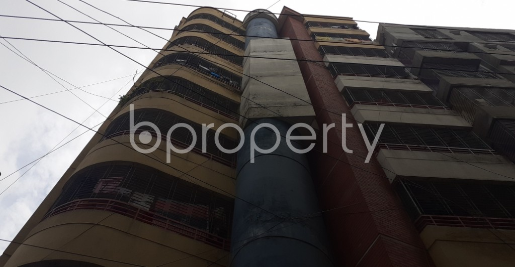Front view - 3 Bed Apartment for Sale in Tejgaon, Dhaka - 1931541