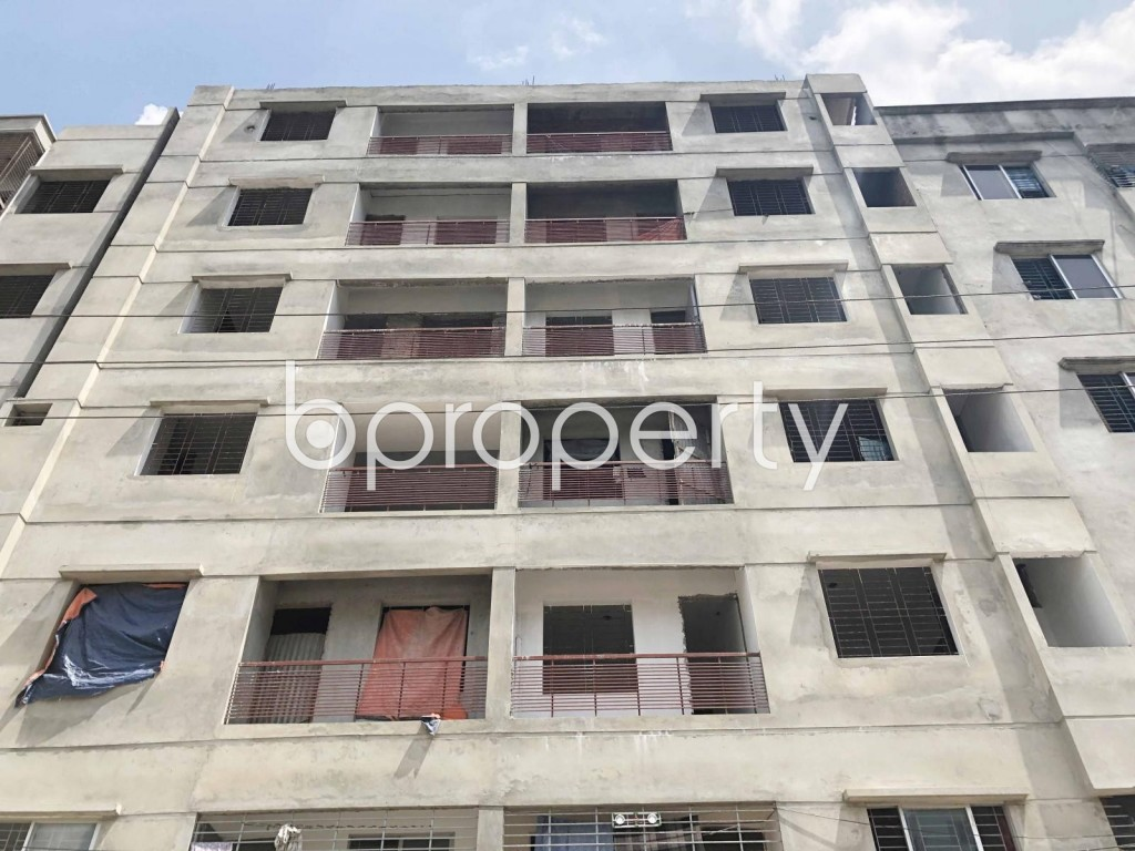 Front view - 3 Bed Apartment to Rent in Mirpur, Dhaka - 1931567