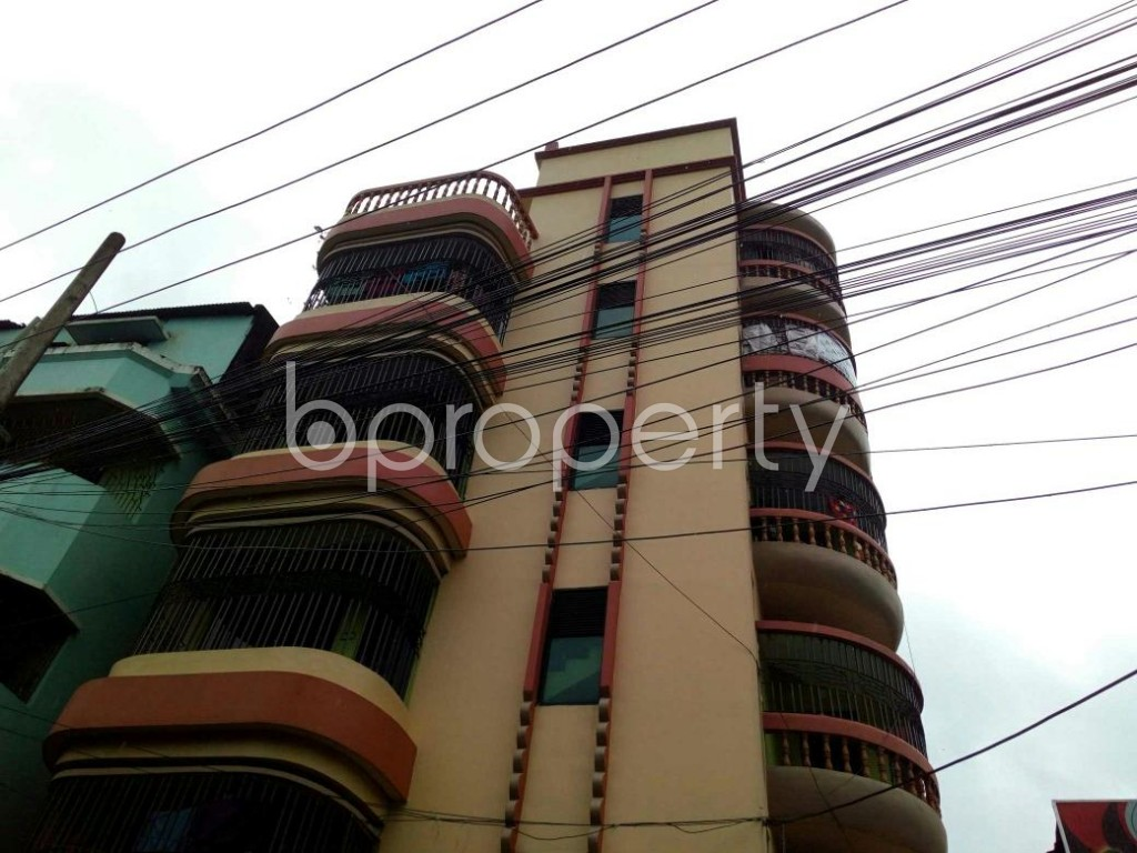 Front view - 2 Bed Apartment to Rent in Double Mooring, Chattogram - 1931583