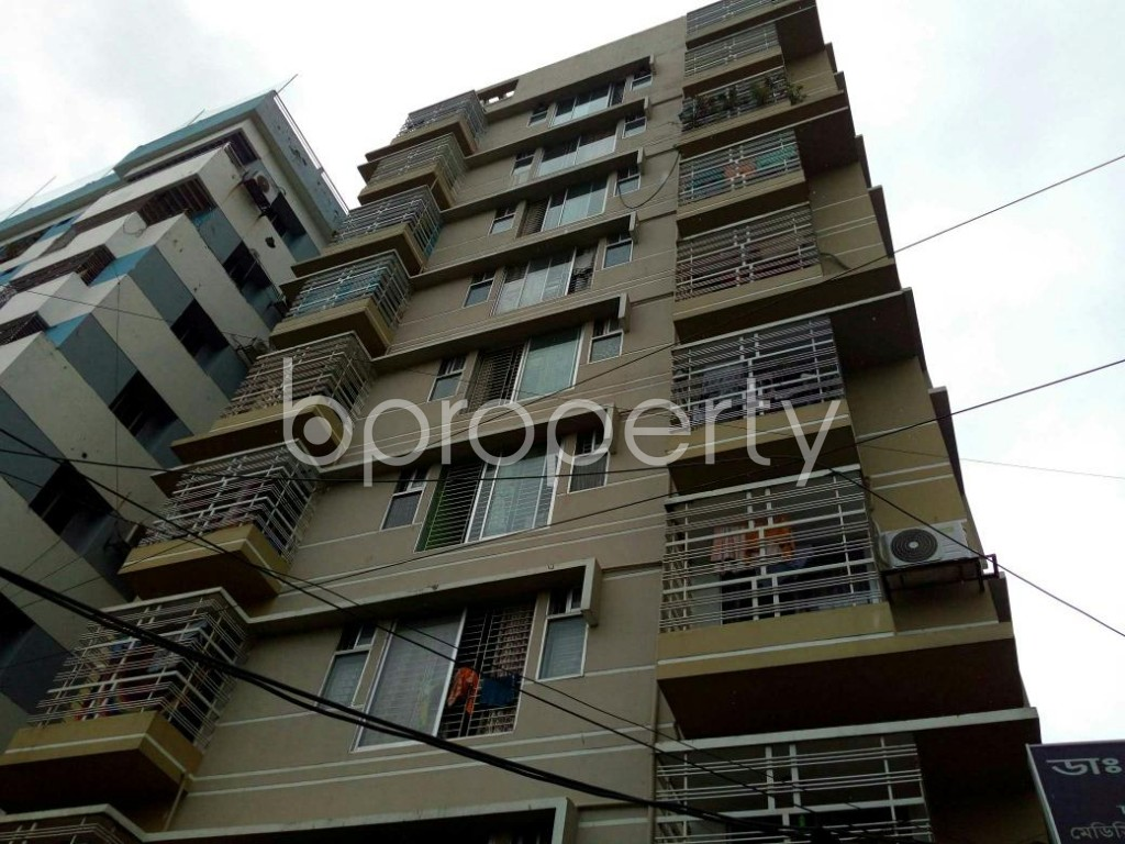 Front view - 3 Bed Apartment to Rent in Double Mooring, Chattogram - 1931584