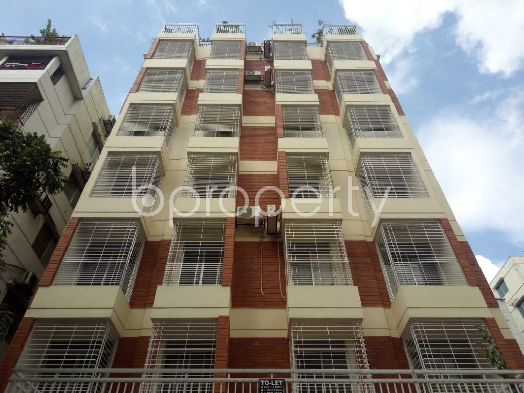 Front view - 3 Bed Apartment to Rent in Uttara, Dhaka - 1931649
