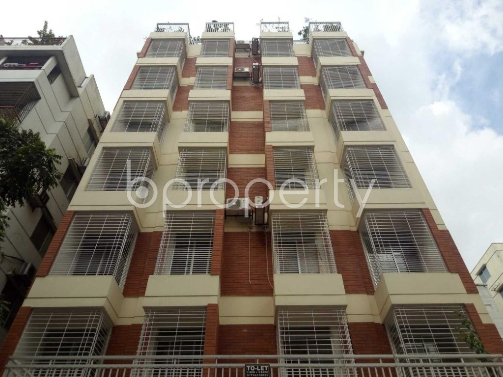 Front view - 3 Bed Apartment to Rent in Uttara, Dhaka - 1931651