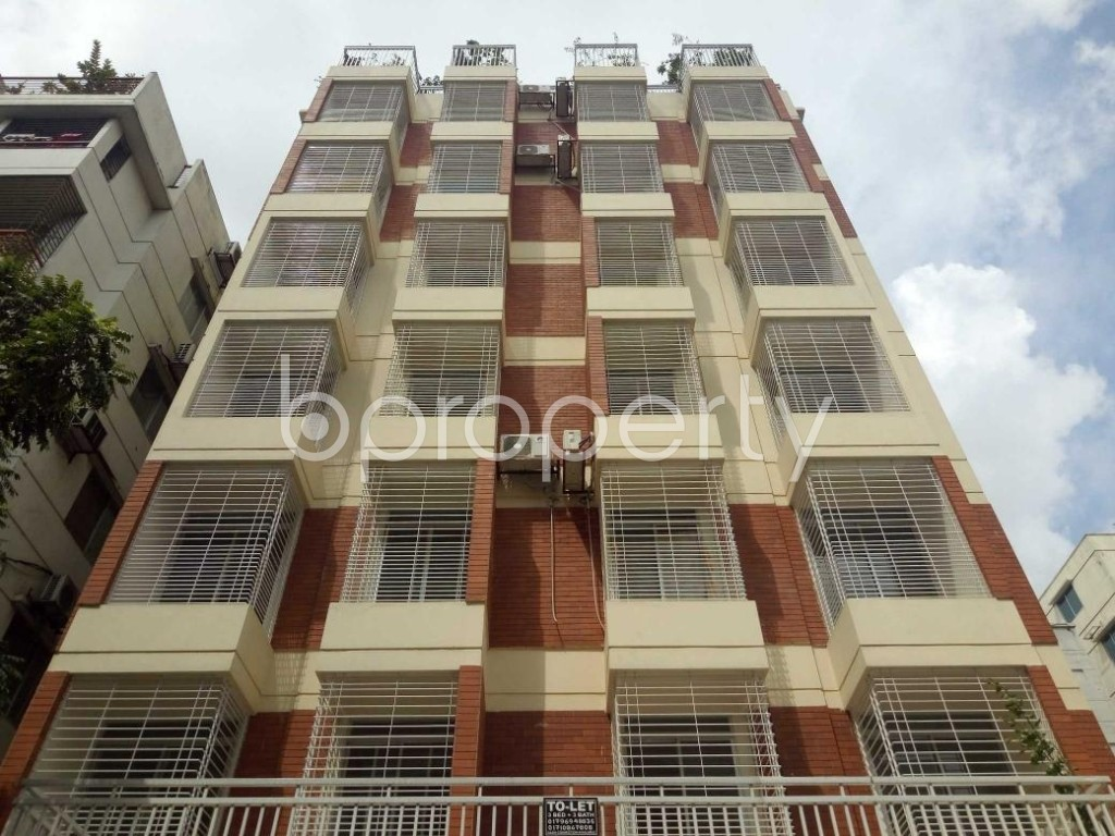 Front view - 3 Bed Apartment to Rent in Uttara, Dhaka - 1931652