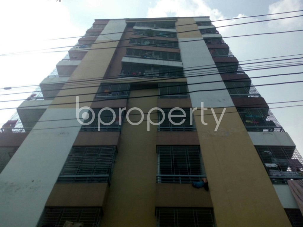 Front view - 3 Bed Apartment for Sale in Uttar Khan, Dhaka - 1931886