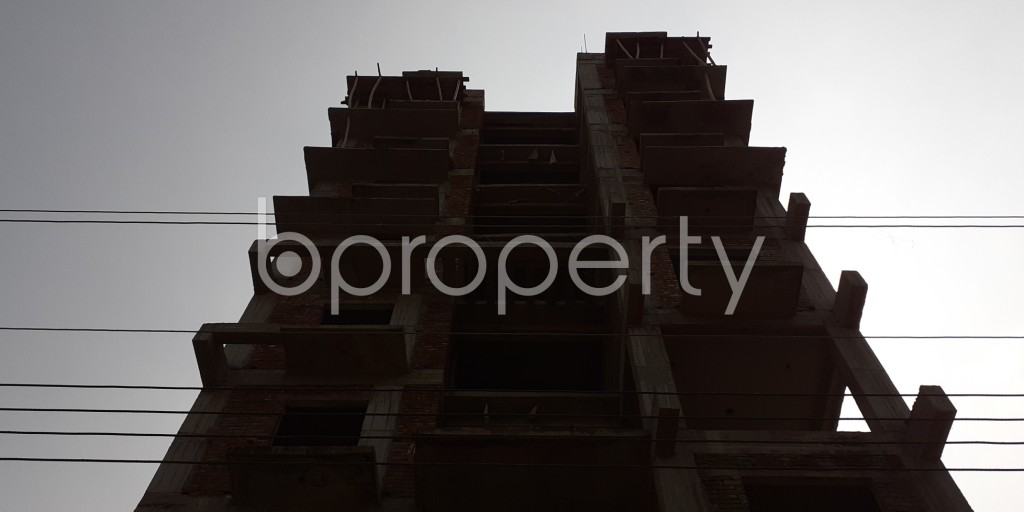 Front view - 3 Bed Apartment for Sale in Bashundhara R-A, Dhaka - 1931966