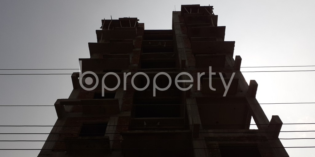 Front view - 3 Bed Apartment for Sale in Bashundhara R-A, Dhaka - 1931967