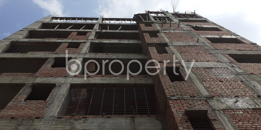 Front view - 3 Bed Apartment for Sale in Bashundhara R-A, Dhaka - 1931973