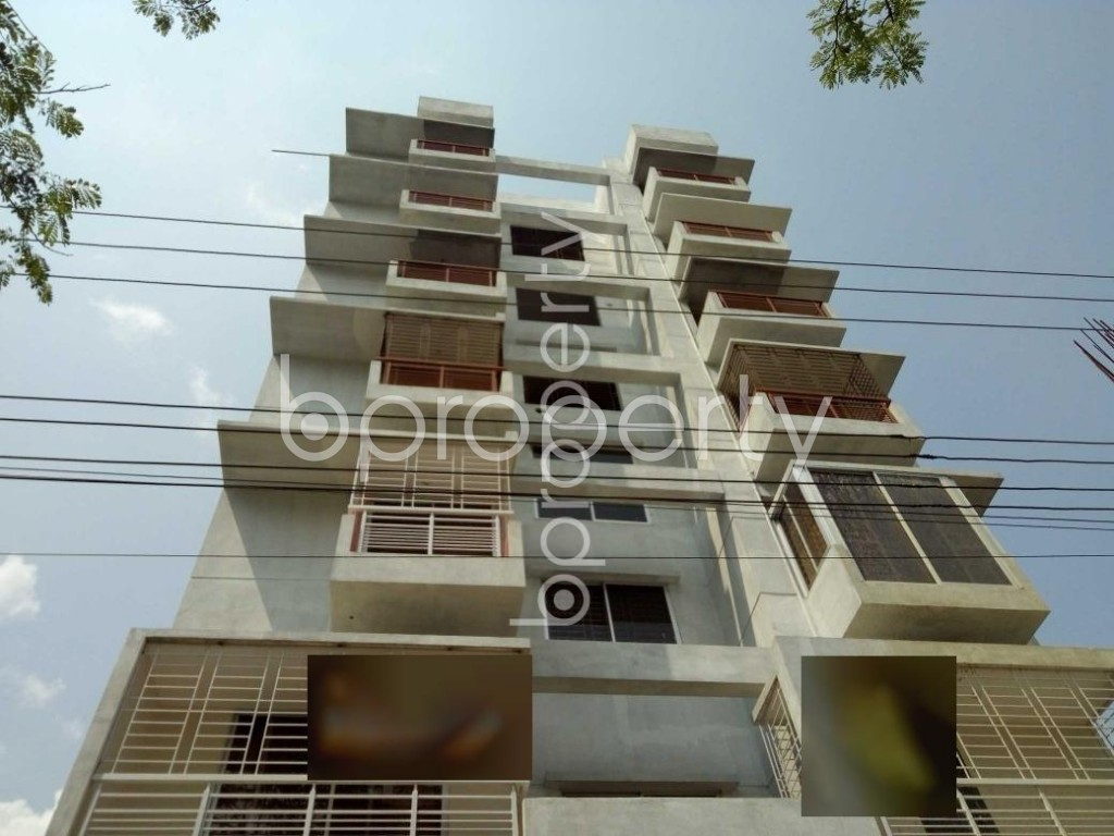 Front view - 3 Bed Apartment for Sale in Bashundhara R-A, Dhaka - 1931960