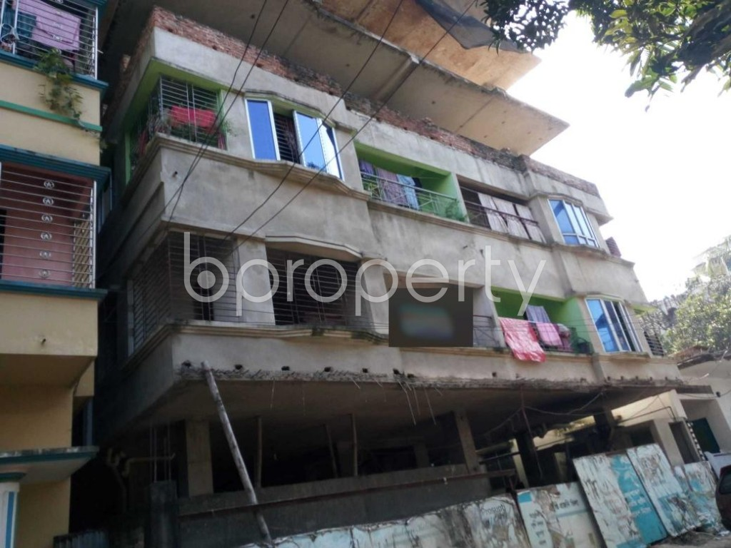 Front view - 3 Bed Apartment for Sale in Halishahar, Chattogram - 1932050