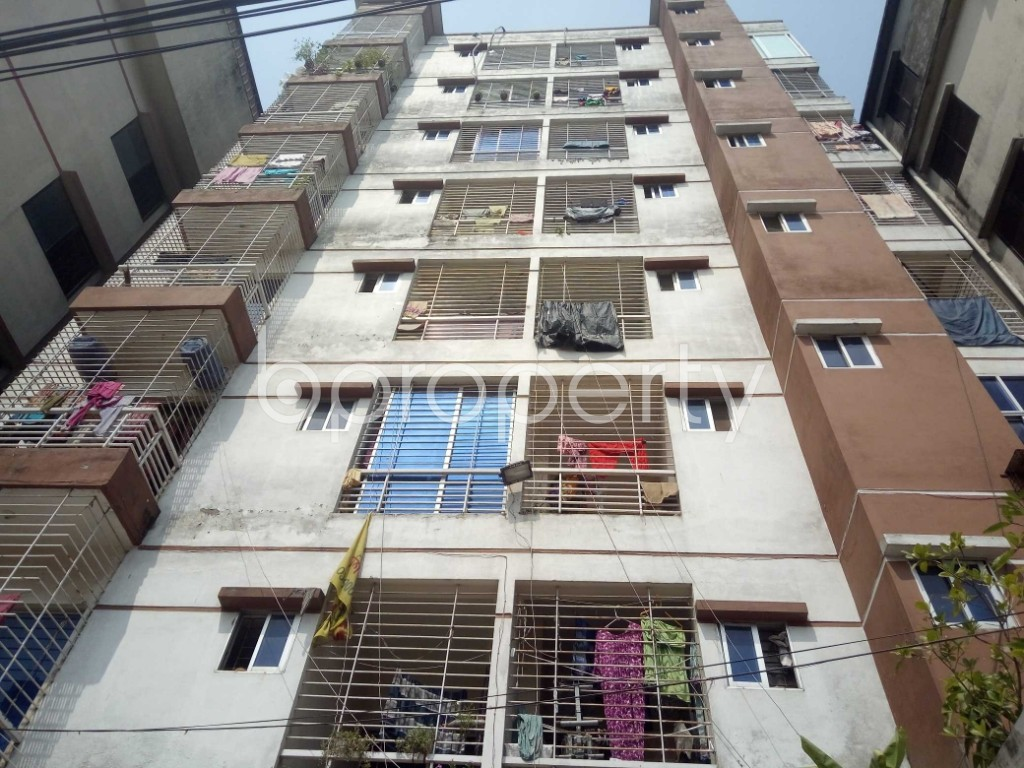 Front view - 3 Bed Apartment for Sale in Badda, Dhaka - 1932082