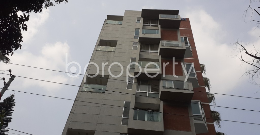 Front view - 4 Bed Apartment for Sale in Gulshan, Dhaka - 1932116