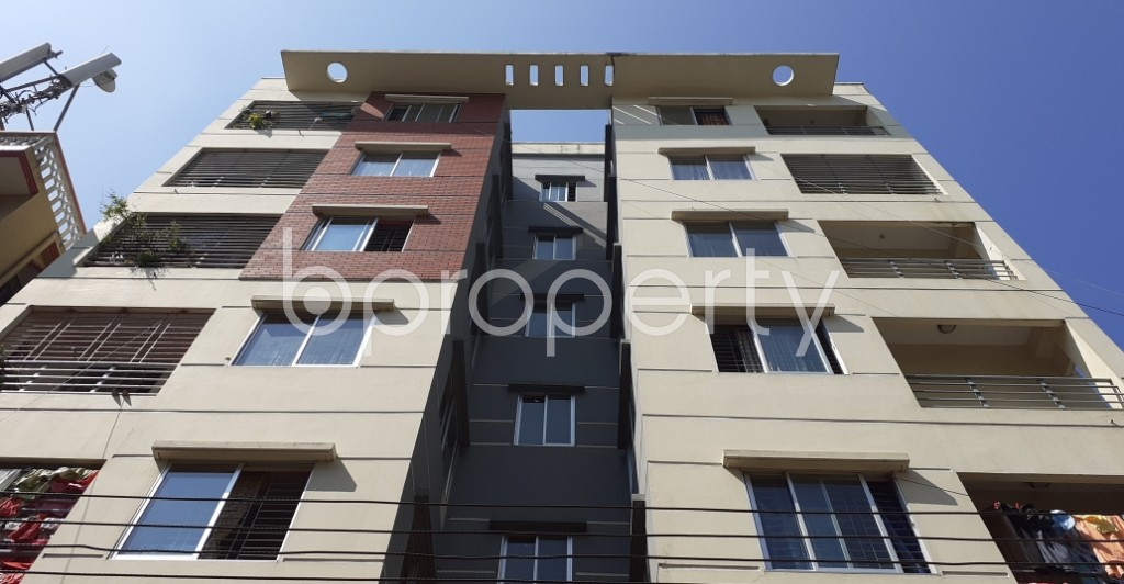 Front view - 3 Bed Apartment for Sale in 9 No. North Pahartali Ward, Chattogram - 1932159