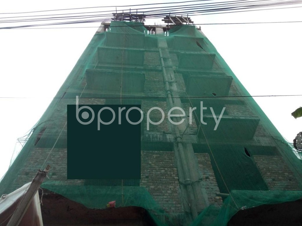 Front view - 3 Bed Apartment for Sale in Badda, Dhaka - 1932177