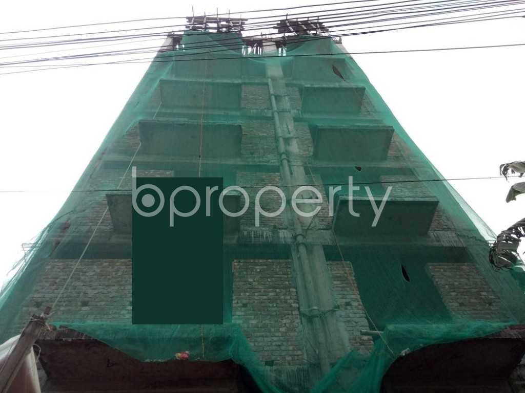 Front view - 4 Bed Apartment for Sale in Badda, Dhaka - 1932178