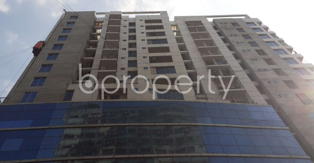 Front view - Shop for Sale in Uttara, Dhaka - 1932212