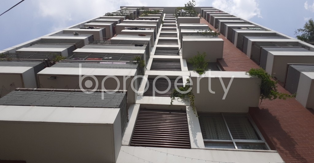 Front view - 3 Bed Apartment for Sale in Malibagh, Dhaka - 1932258