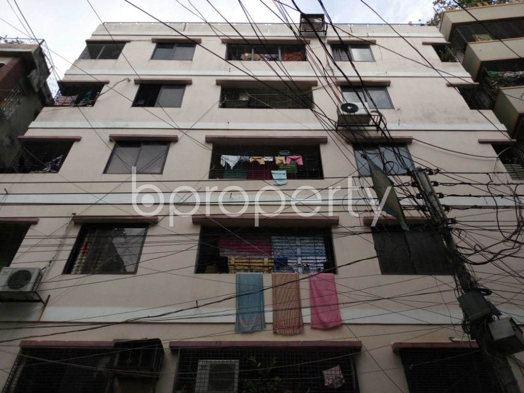 Front view - 3 Bed Apartment for Sale in Khilgaon, Dhaka - 1932259