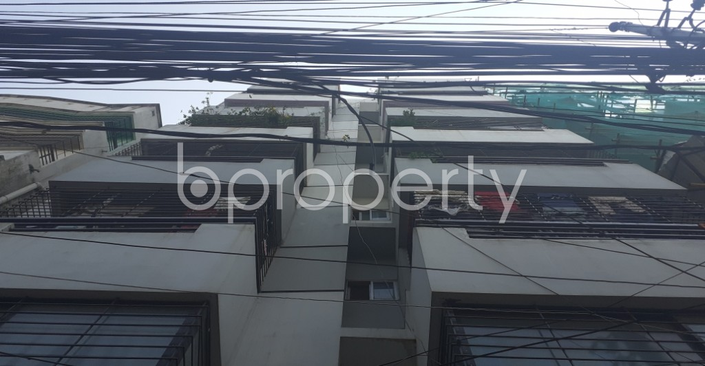 Outside view - 3 Bed Apartment for Sale in Lalmatia, Dhaka - 1932282