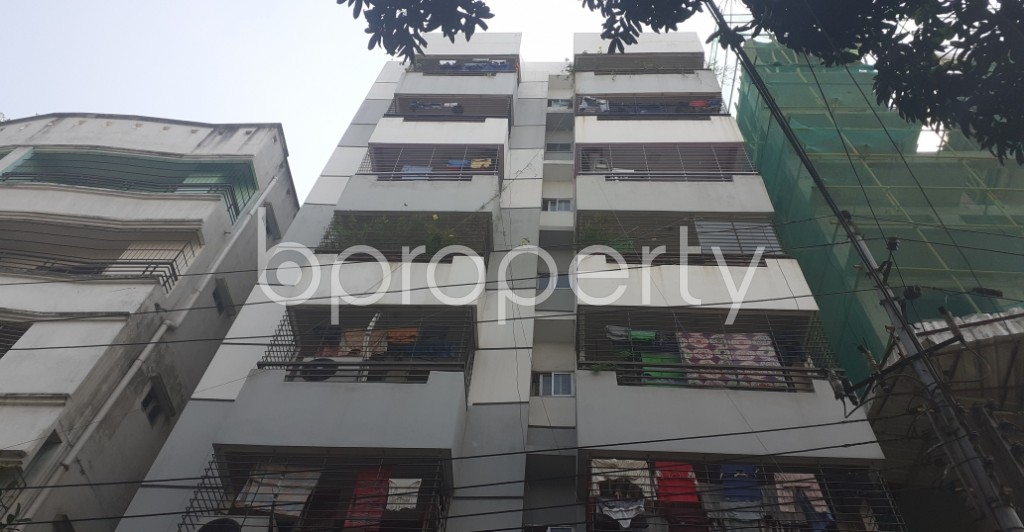 Outside view - 3 Bed Apartment for Sale in Lalmatia, Dhaka - 1932283