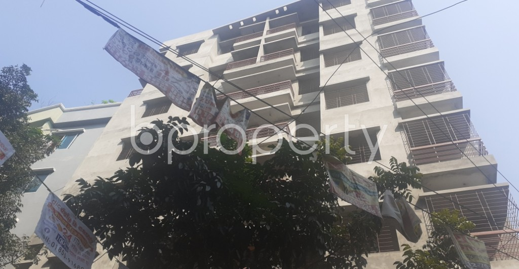 Front view - 2 Bed Apartment for Sale in Mohammadpur, Dhaka - 1932343