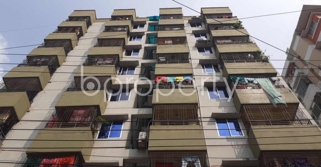 Front view - 3 Bed Apartment for Sale in Motijheel, Dhaka - 1932358